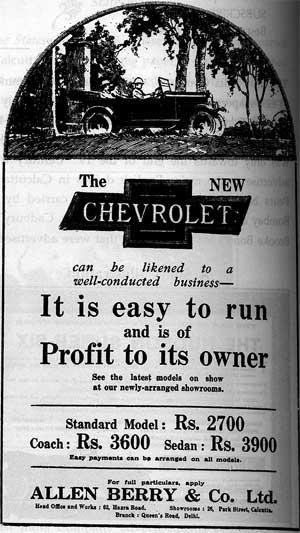 Chevrolet 1920s