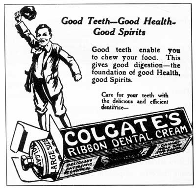 Colgate's Ribbon Dental Cream