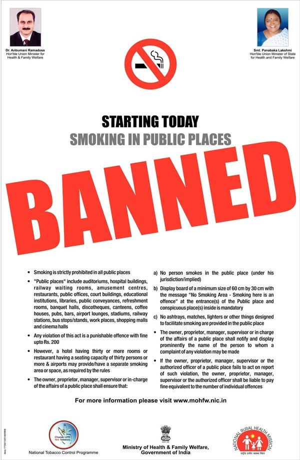 Good thesis statement for banning smoking : Smoking, bans : I need ...